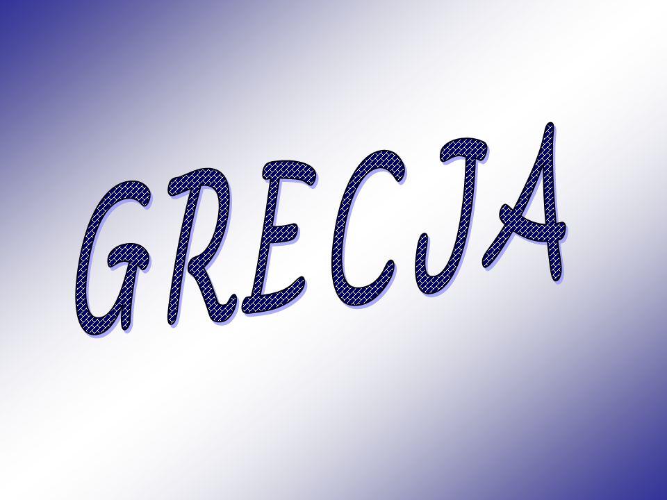 Grecja, Republika Grecka – kraj w południowo- wschodniej części Europy, położony na krańcu Półwyspu Bałkańskiego.