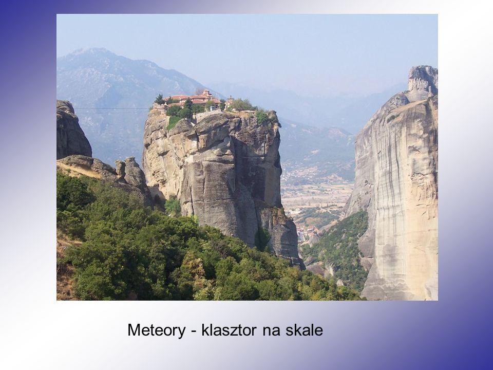 Meteory - klasztor na skale