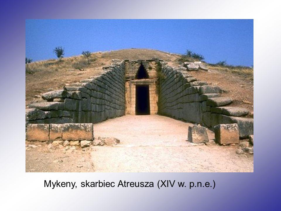 Mykeny, skarbiec Atreusza (XIV w. p.n.e.)