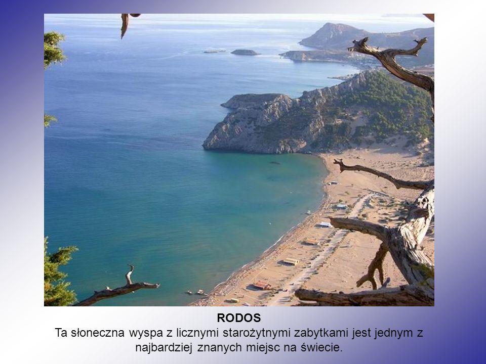 RODOS Ta słoneczna wyspa z licznymi starożytnymi zabytkami jest jednym z najbardziej znanych miejsc na świecie.