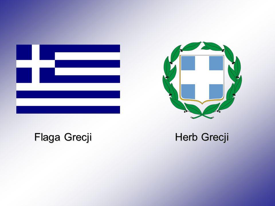 Flaga Grecji Herb Grecji