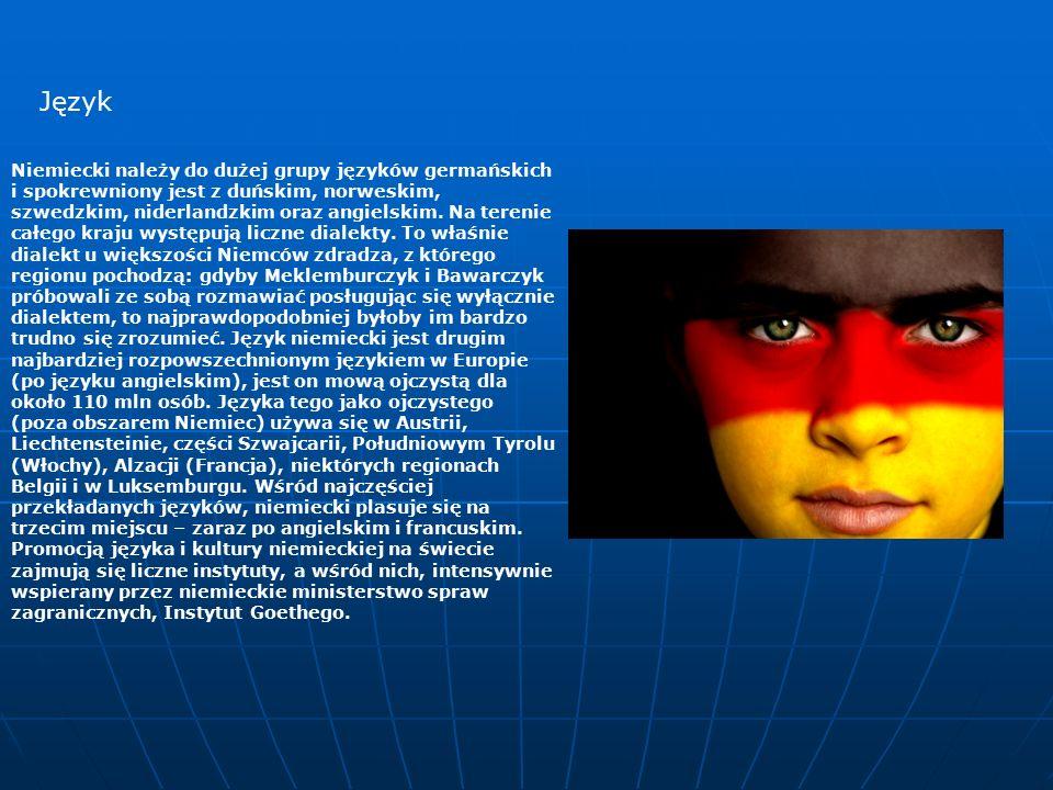 Niemiecki należy do dużej grupy języków germańskich i spokrewniony jest z duńskim, norweskim, szwedzkim, niderlandzkim oraz angielskim.
