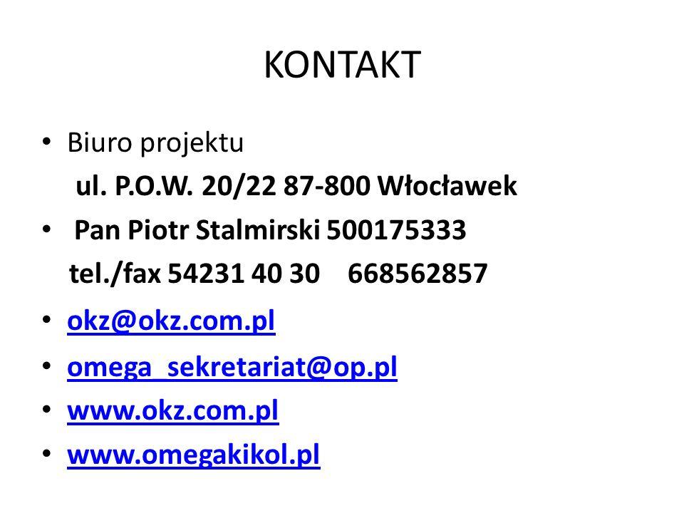 KONTAKT Biuro projektu ul.P.O.W.
