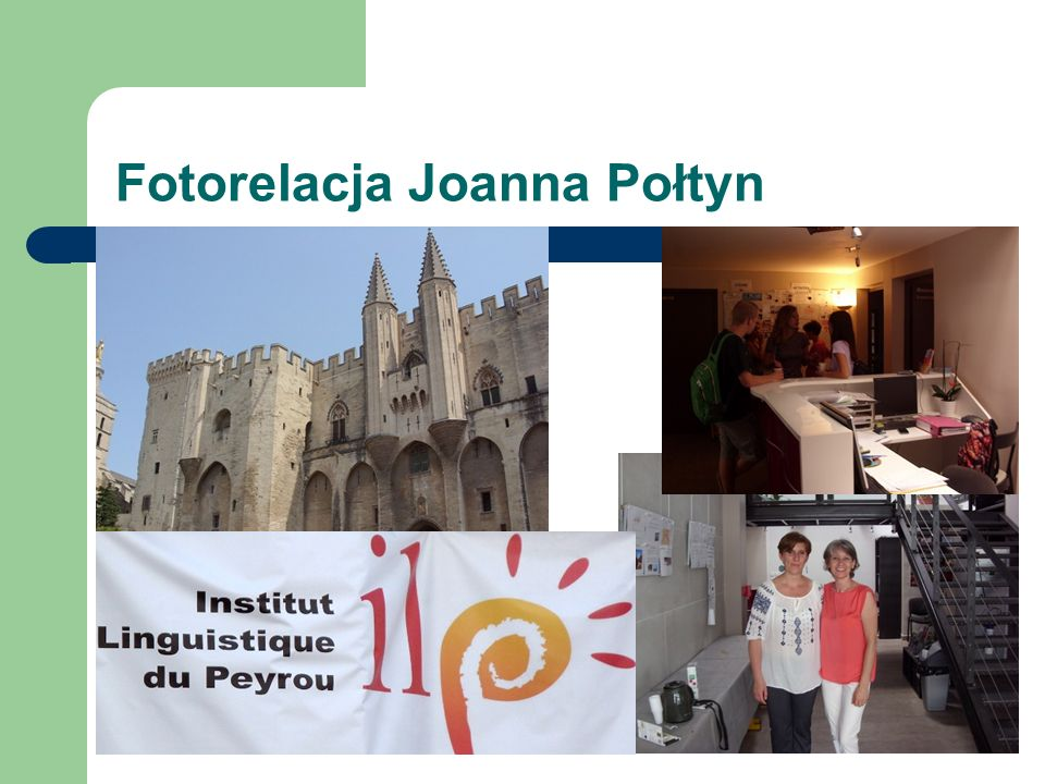 """Relacje uczestniczek mobilności: Anna Płotkowska, Instituto Cervantes de Málaga """"W trakcie szkolenia poznałam nauczycieli hiszpańskiego z innych krajów, m.in.."""