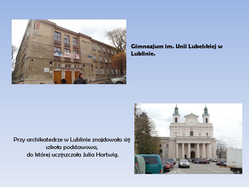 Gimnazjum im. Unii Lubelskiej w Lublinie.