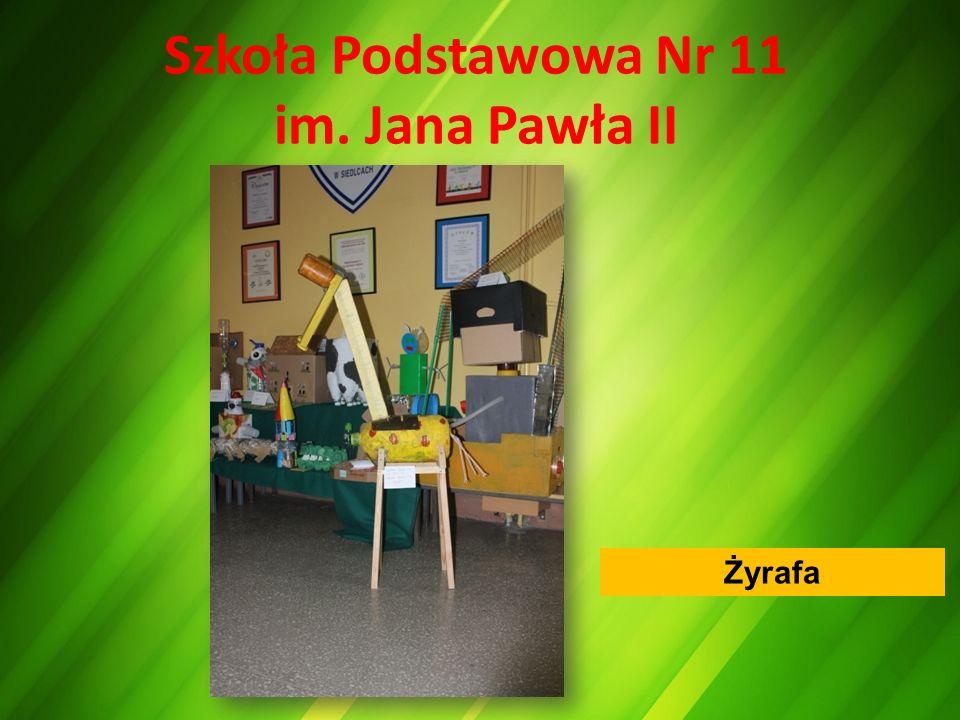 Szkoła Podstawowa Nr 11 im. Jana Pawła II Żyrafa
