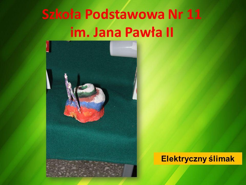 Szkoła Podstawowa Nr 11 im. Jana Pawła II Elektryczny ślimak