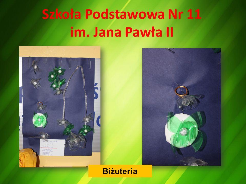 Szkoła Podstawowa Nr 11 im. Jana Pawła II Biżuteria