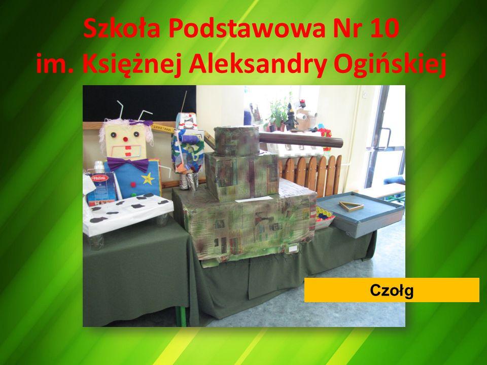 Szkoła Podstawowa Nr 10 im. Księżnej Aleksandry Ogińskiej Czołg