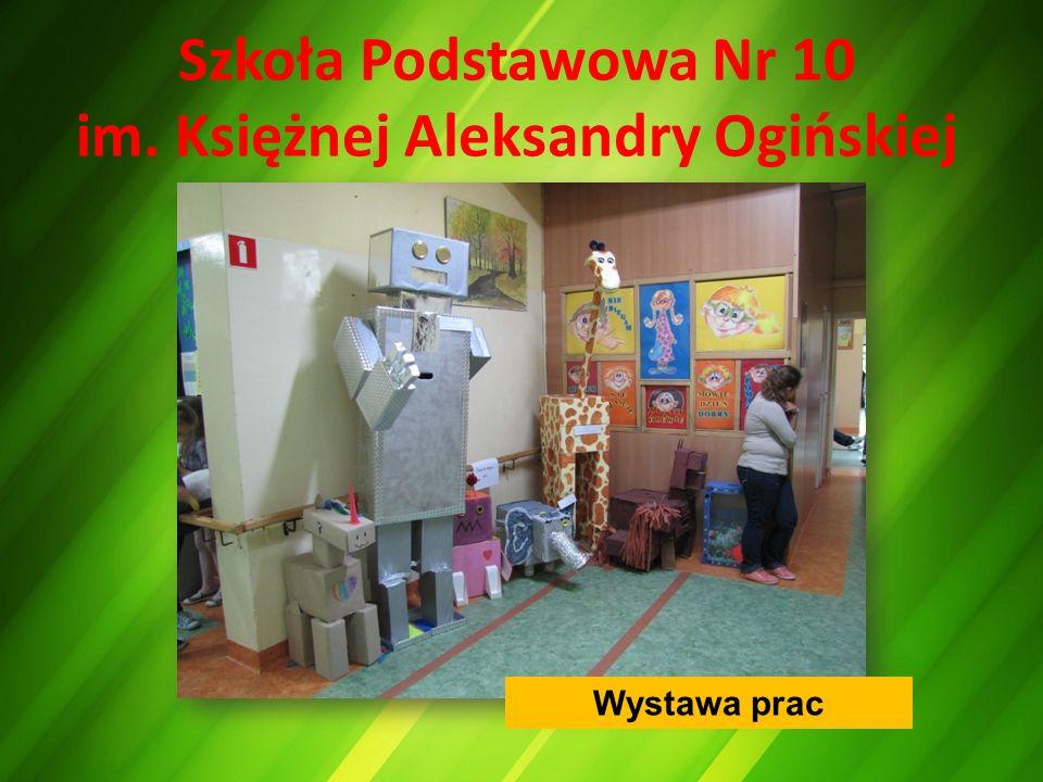 Szkoła Podstawowa Nr 10 im. Księżnej Aleksandry Ogińskiej Wystawa prac