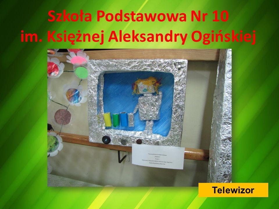 Szkoła Podstawowa Nr 10 im. Księżnej Aleksandry Ogińskiej Telewizor