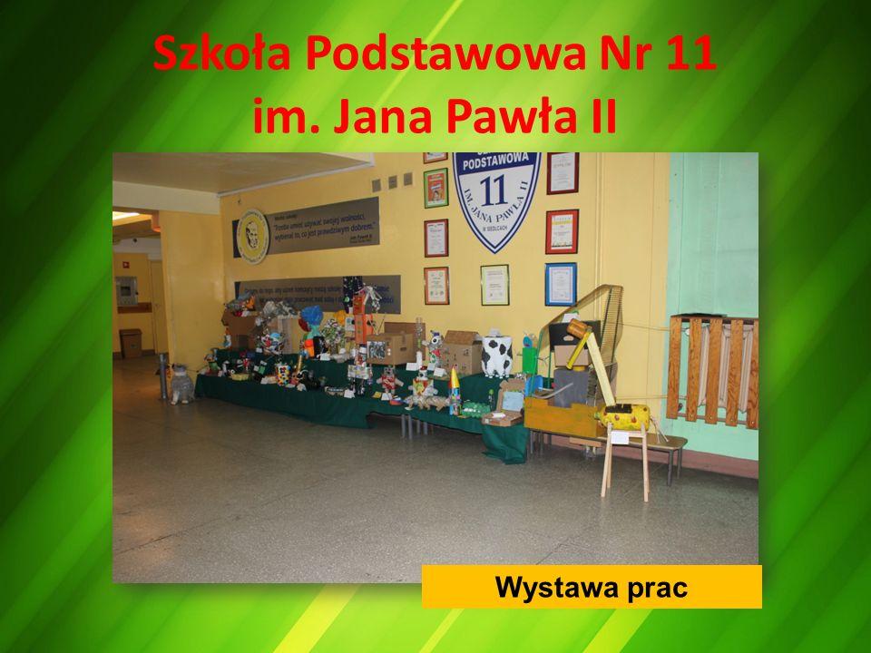 Szkoła Podstawowa Nr 11 im. Jana Pawła II Wystawa prac