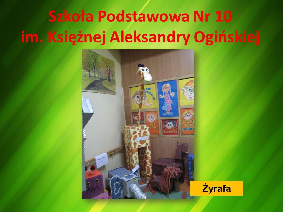 Szkoła Podstawowa Nr 10 im. Księżnej Aleksandry Ogińskiej Żyrafa