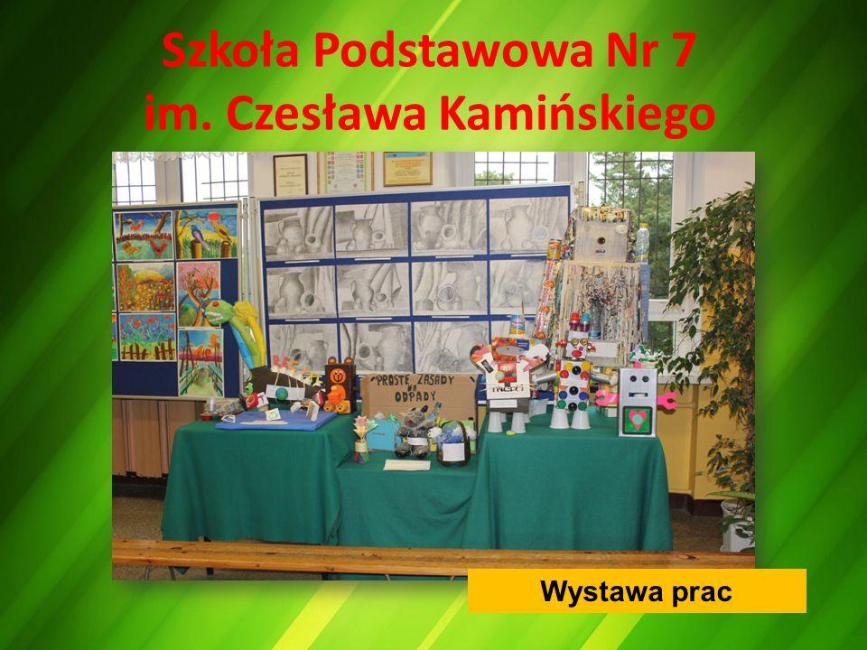 Szkoła Podstawowa Nr 7 im. Czesława Kamińskiego Wystawa prac