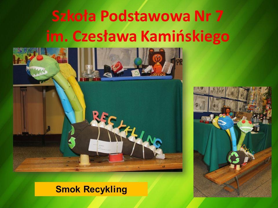 Szkoła Podstawowa Nr 7 im. Czesława Kamińskiego Smok Recykling