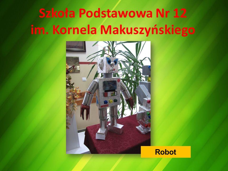 Szkoła Podstawowa Nr 12 im. Kornela Makuszyńskiego Robot