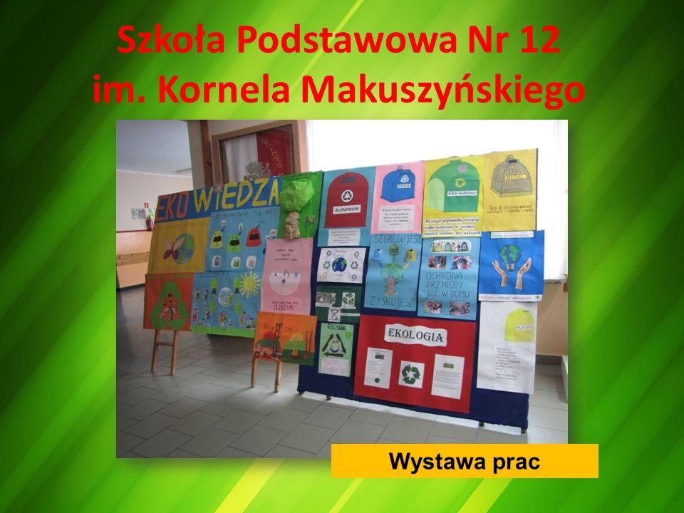 Szkoła Podstawowa Nr 12 im. Kornela Makuszyńskiego Wystawa prac