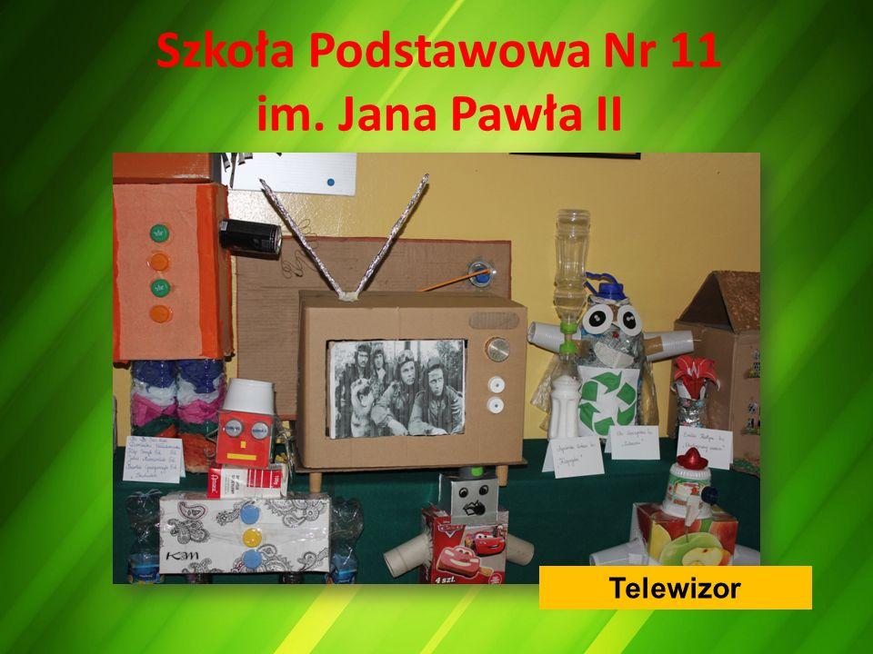 Szkoła Podstawowa Nr 11 im. Jana Pawła II Telewizor