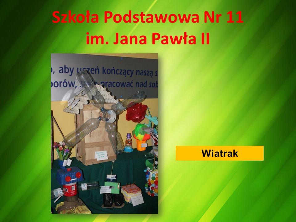 Szkoła Podstawowa Nr 11 im. Jana Pawła II Wiatrak