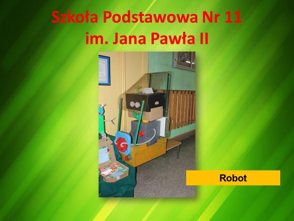 Szkoła Podstawowa Nr 11 im. Jana Pawła II Robot