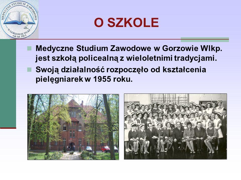 O SZKOLE Medyczne Studium Zawodowe w Gorzowie Wlkp. jest szkołą policealną z wieloletnimi tradycjami. Swoją działalność rozpoczęło od kształcenia piel