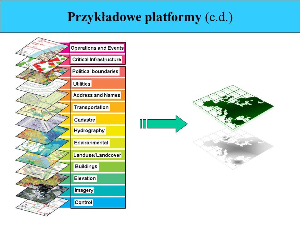 Przykładowe platformy (c.d.)