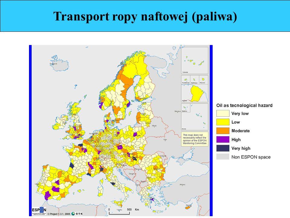 Transport ropy naftowej (paliwa)
