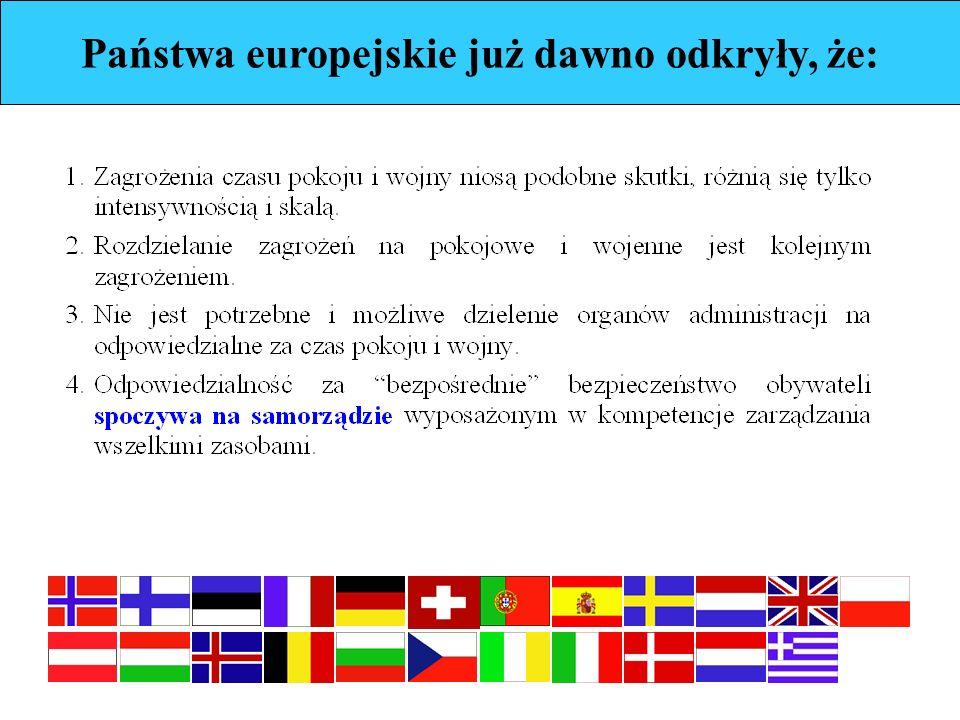 Państwa europejskie już dawno odkryły, że: