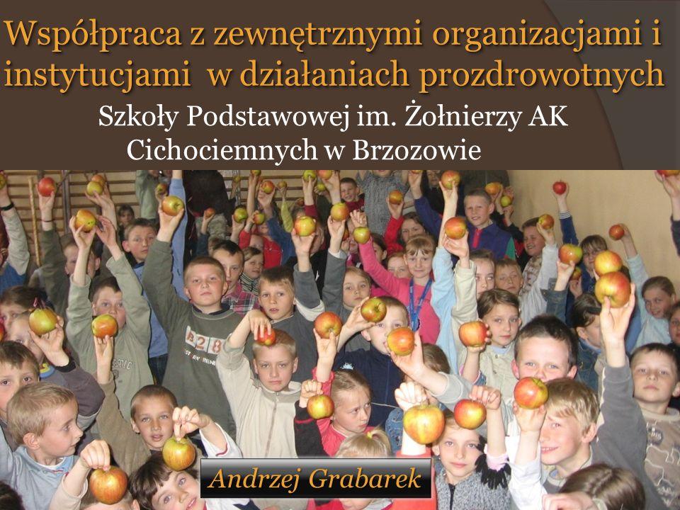 Współpraca z zewnętrznymi organizacjami i instytucjami w działaniach prozdrowotnych Szkoły Podstawowej im.