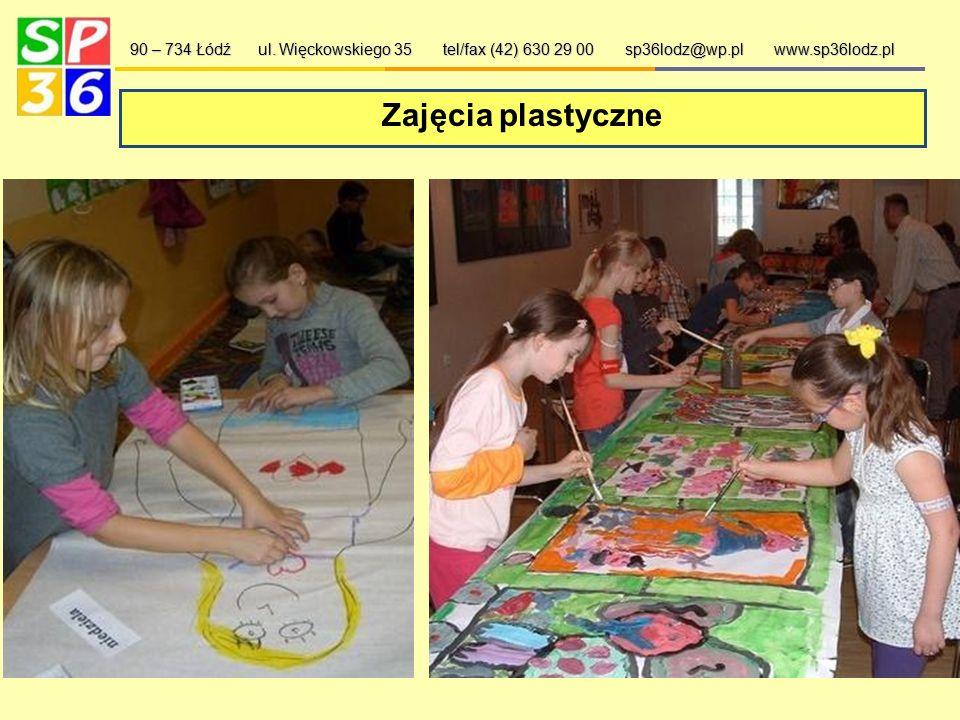 Koło taneczne, przyrodnicze, teatralne i inne… 90 – 734 Łódź ul. Więckowskiego 35 tel/fax (42) 630 29 00 sp36lodz@wp.pl www.sp36lodz.pl W naszej szkol