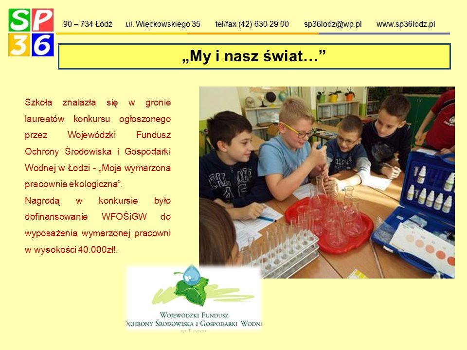 Mistrzowie Kodowania 90 – 734 Łódź ul. Więckowskiego 35 tel/fax (42) 630 29 00 sp36lodz@wp.pl www.sp36lodz.pl Projekt o zasięgu ogólnopolskim. Jest to