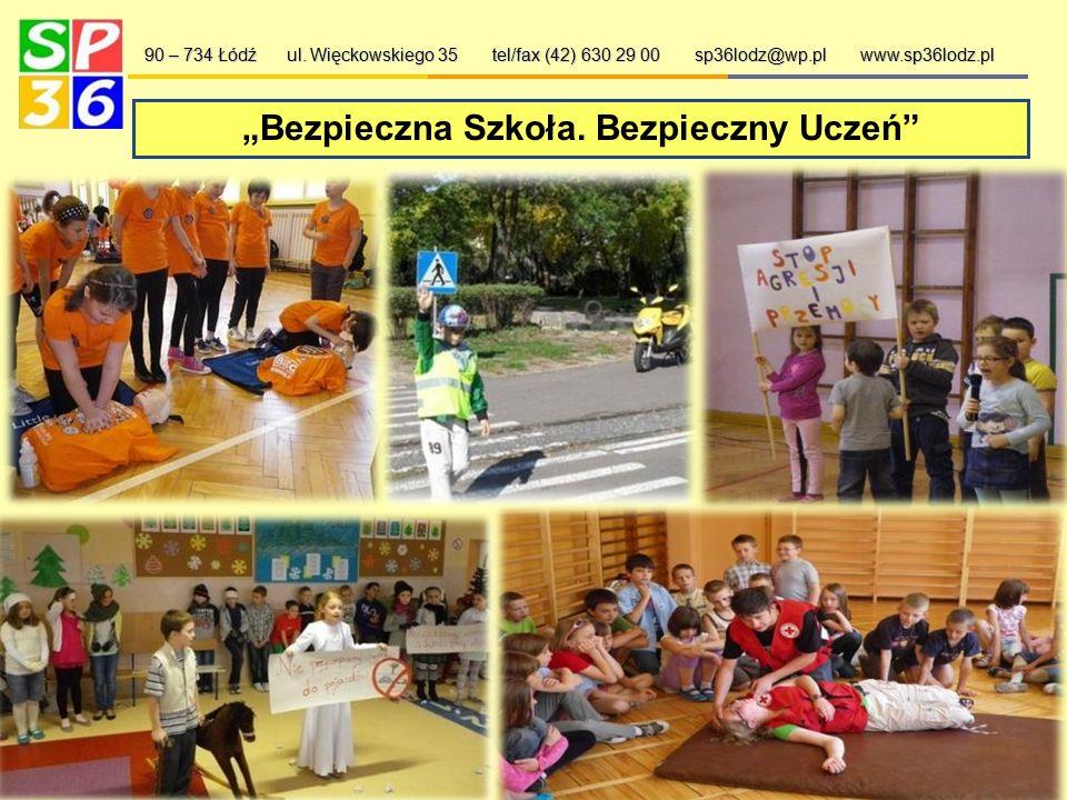 Wyjątkowy uczeń 90 – 734 Łódź ul. Więckowskiego 35 tel/fax (42) 630 29 00 sp36lodz@wp.pl www.sp36lodz.pl