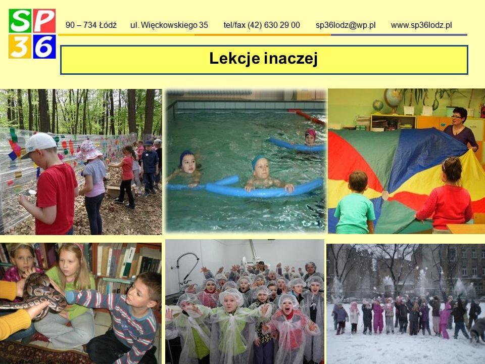 Dbamy o bezpieczeństwo 90 – 734 Łódź ul. Więckowskiego 35 tel/fax (42) 630 29 00 sp36lodz@wp.pl www.sp36lodz.pl