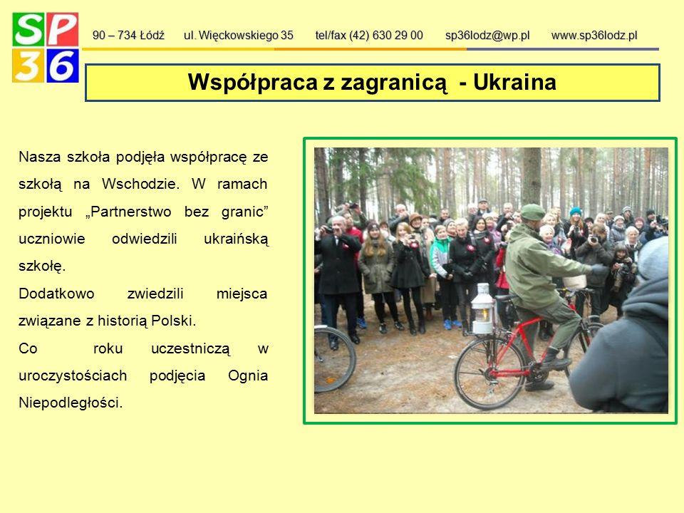 Aktywny Samorząd Uczniowski 90 – 734 Łódź ul. Więckowskiego 35 tel/fax (42) 630 29 00 sp36lodz@wp.pl www.sp36lodz.pl Samorząd szkolny organizuje wiele
