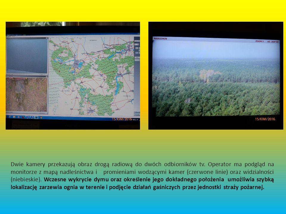 Punkt Alarmowo – Dyspozycyjny w Podaninie Zrzut ekranu w PAD Nadleśnictwa Podanin.