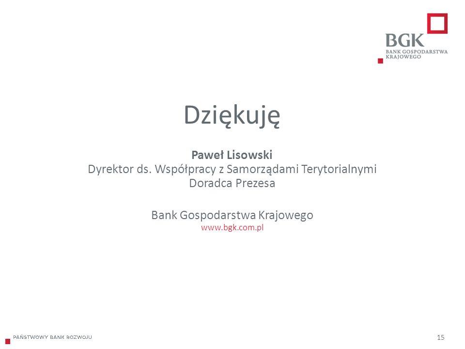 204/204/204 218/32/56 118/126/132 183/32/51 227/30/54 15 Dziękuję Paweł Lisowski Dyrektor ds.