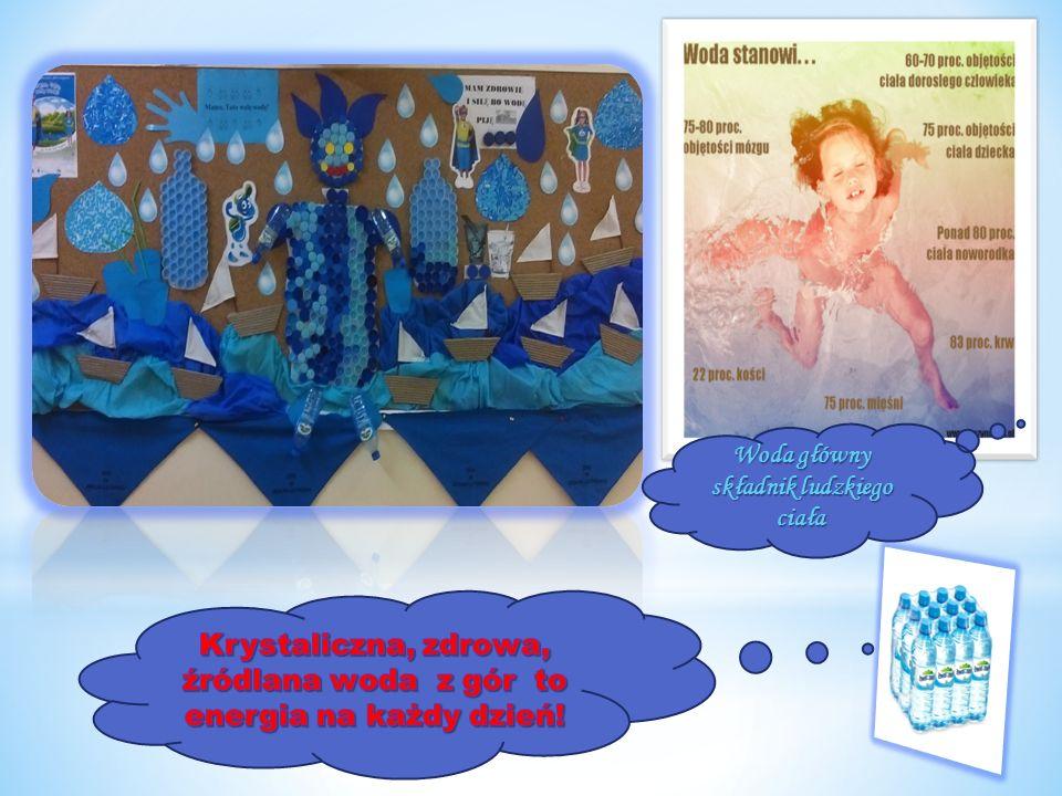 Woda główny składnik ludzkiego ciała