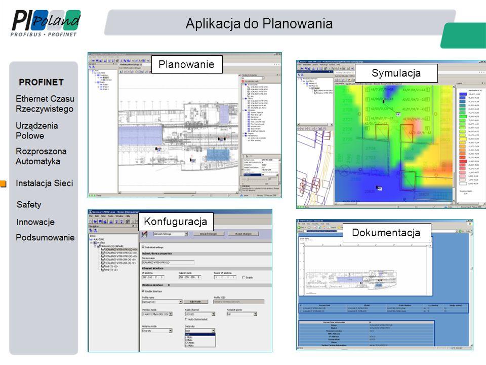 Aplikacja do Planowania Planowanie Symulacja Konfuguracja Dokumentacja