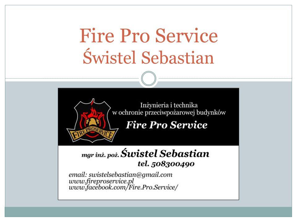 Fire Pro Service Świstel Sebastian