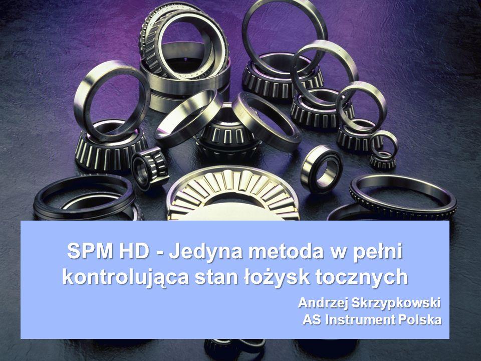 SPM HD - Nowy przetwornik 32 kHz o 5-7 razy bardziej czuły na udary niż przetworniki drgań.