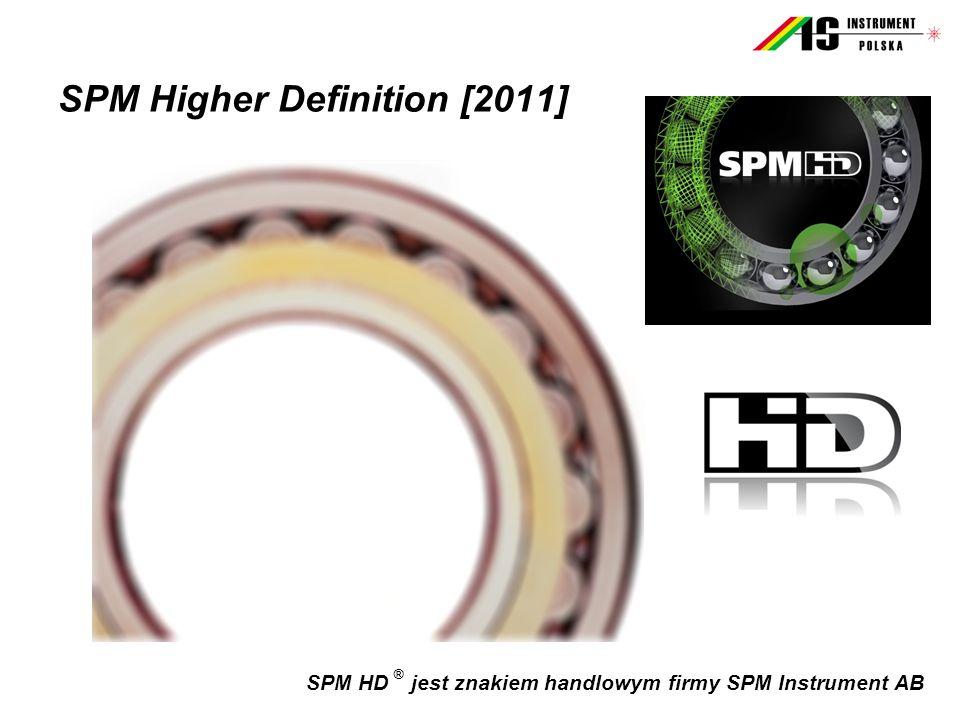 SPM HD ® jest znakiem handlowym firmy SPM Instrument AB SPM Higher Definition [2011]