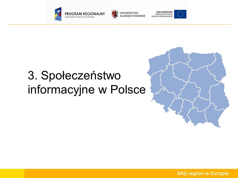 Mój region w Europie 3. Społeczeństwo informacyjne w Polsce
