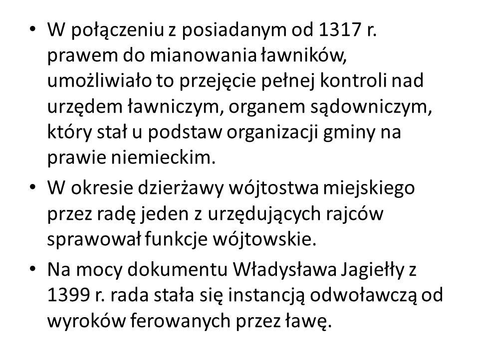 W połączeniu z posiadanym od 1317 r.