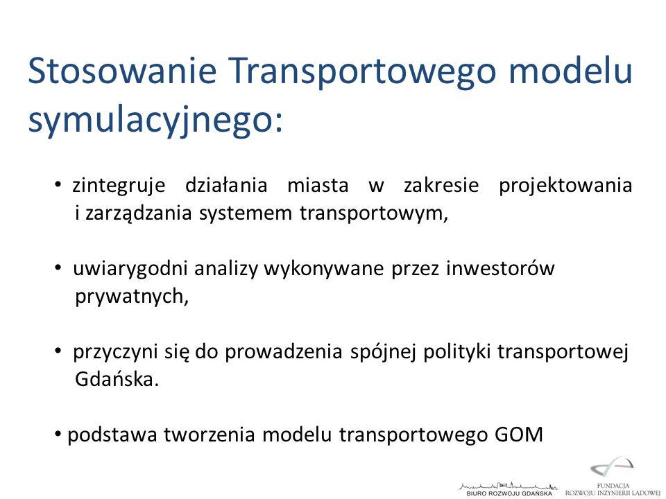 Stosowanie Transportowego modelu symulacyjnego: zintegruje działania miasta w zakresie projektowania i zarządzania systemem transportowym, uwiarygodni