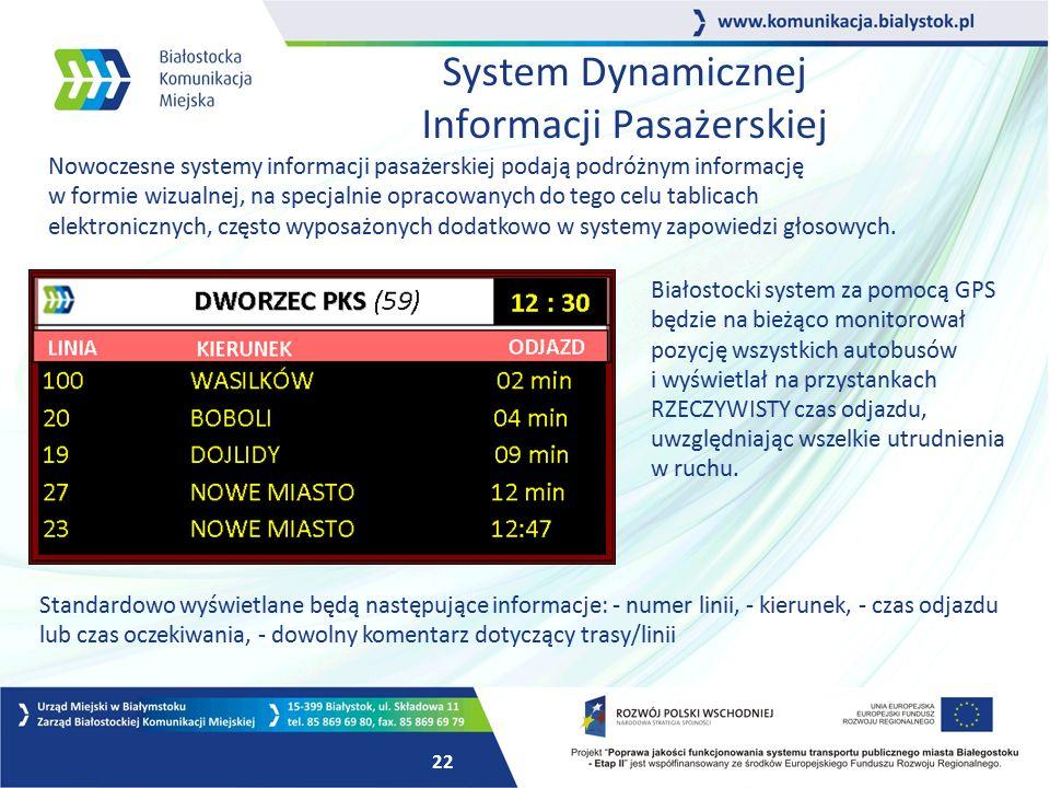 System Dynamicznej Informacji Pasażerskiej