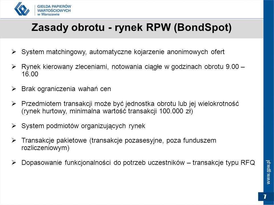 """18 W DRODZE NA CATALYST AUTORYZACJA CZY OBRÓT KROK PIERWSZY – UMOWA Z KDPW  AUTORYZACJA – obowiązkowo: umowa z KDPW o nadanie instrumentom dłużnym kodu ISIN (""""kod techniczny , bez dematerializacji)  DOPUSZCZENIE/WPROWADZENIE do obrotu na Catalyst obowiązkowo: nadanie kodu ISIN i przyjęcie papierów do depozytu (uchwała KDPW w sprawie dematerializacji) Wystandaryzowane wnioski dostępne na www.kdpw.pl"""