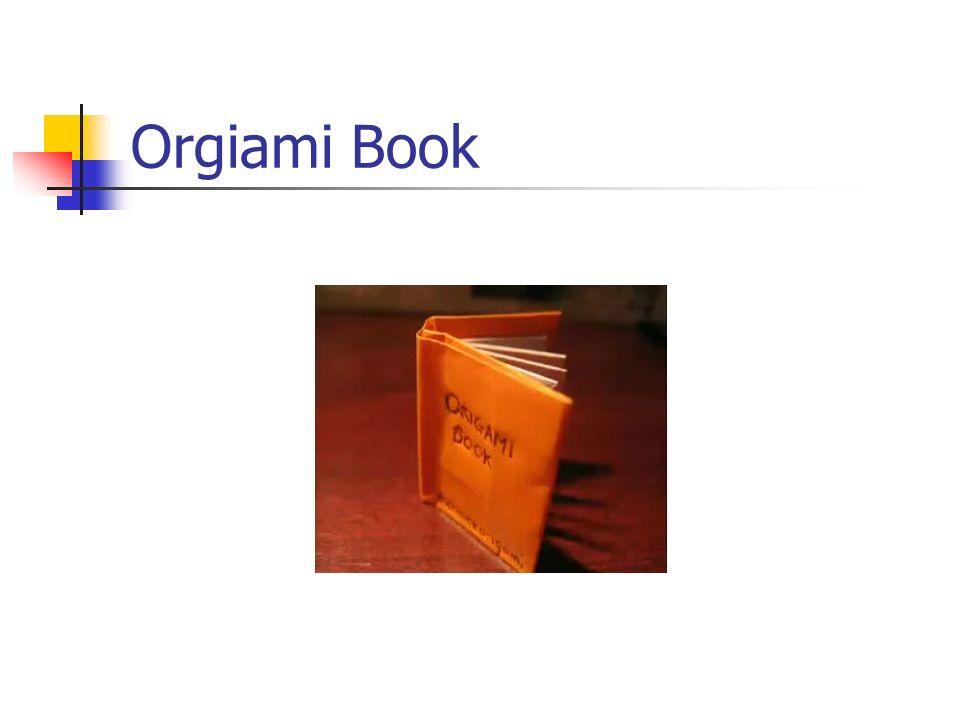 Orgiami Book