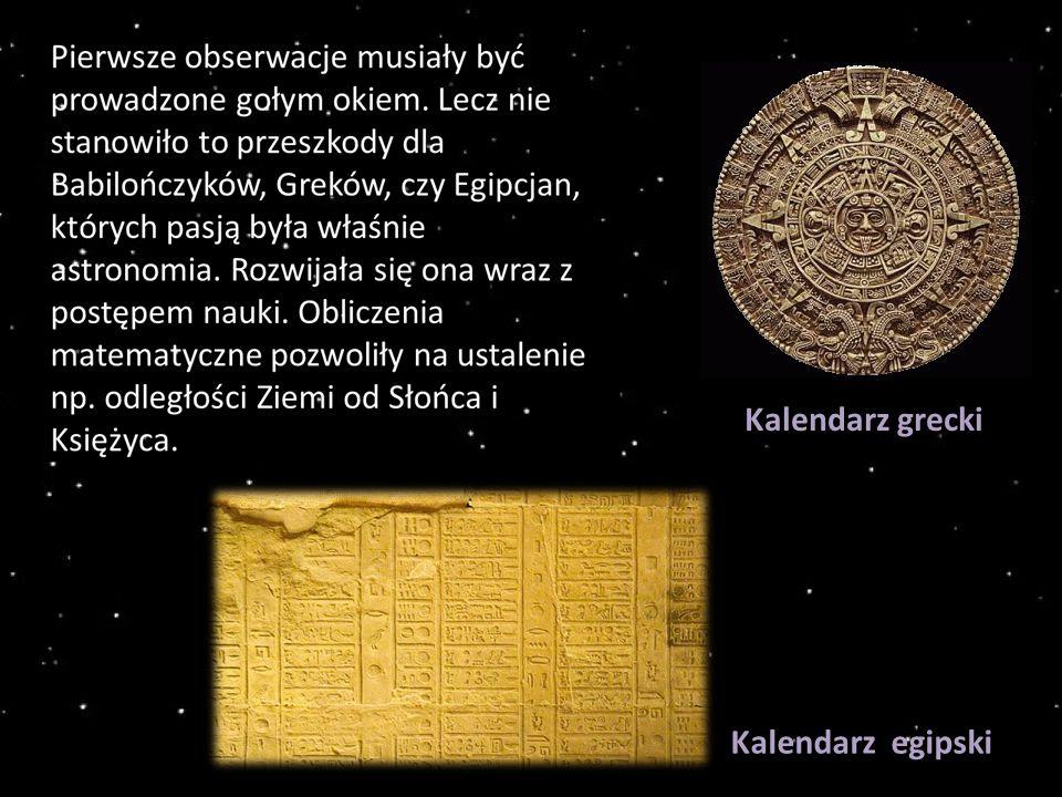 Kalendarz grecki Kalendarz egipski