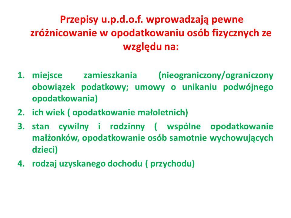 Przepisy u.p.d.o.f.