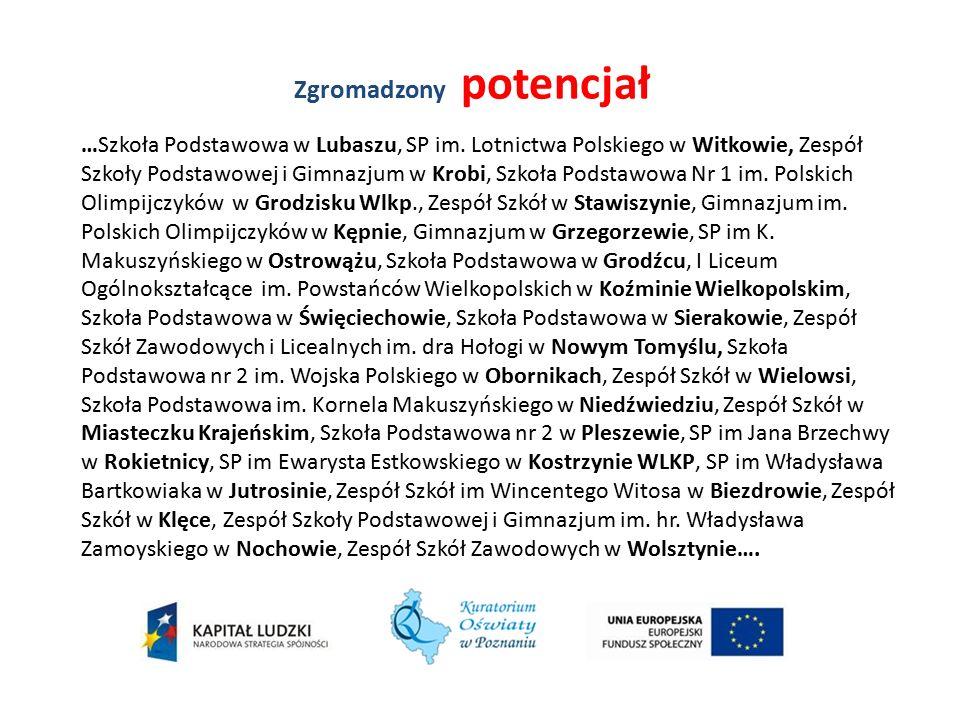 Zgromadzony potencjał …Szkoła Podstawowa w Lubaszu, SP im.